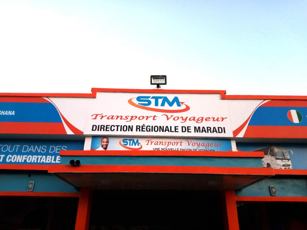 STM, une nouvelle gare moderne pour Maradi